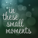 In These Small Moments button