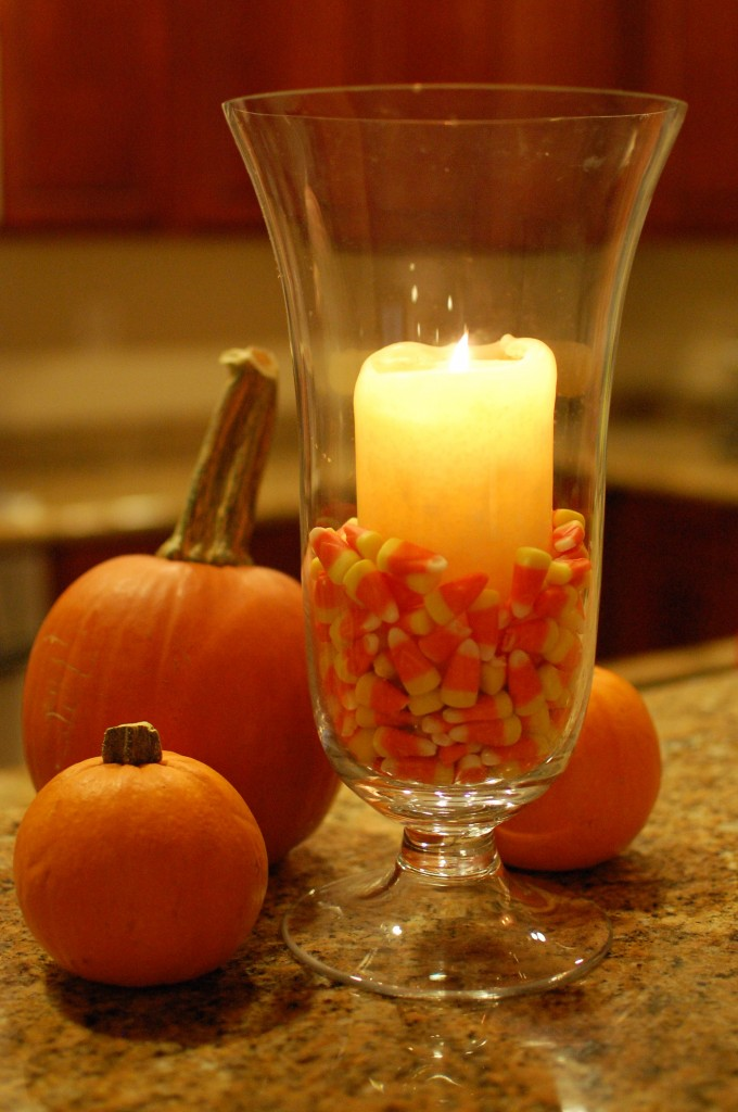 candy corn decorations, Halloween crafts, easy craft projects