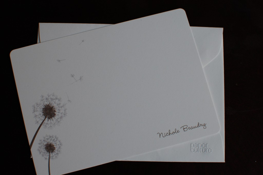 paper culture, personalized stationery